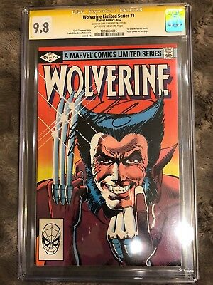 Wolverine (Limited Series) #1 1982 CGCS 9.8 Signed by Chris Claremont!