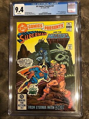 DC Comics Presents #47 First He-Man & Skeletor CGC 9.4 - White Pages!