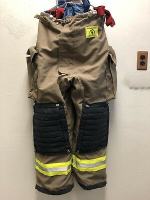 Morning Pride Firemans Pants w/ Reinforced Knees And Tear Resistant. Sz. 40X29.