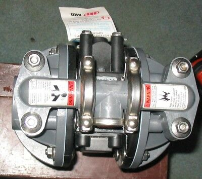 """Aro Ingersoll Rand Air Operated Diaphragm Pump, Model Pd03P-Aps-Ptt, 1/2"""" Outlet"""