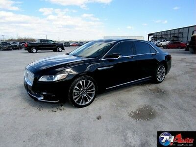 Lincoln Continental Reserve   Theft Recovery, salvage repairable, whol 2017 Reserve   Theft Recovery, salvage repairable, whol Used Turbo 2.7L V6 24V
