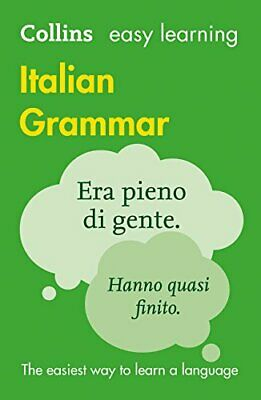 Easy Learning Italian Grammar (Collins Easy... by Collins Dictionaries Paperback