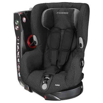 Brand New Maxi-Cosi AXISS Group 1 Car Seat in Black Crystal RRP£210