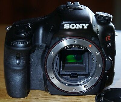 Sony Alpha SLT-A65 24.3MP Digital SLR Camera Body {No Lens) Near Mint, with box.