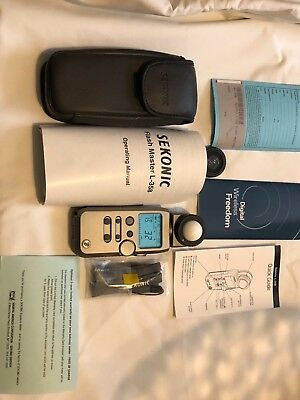 Sekonic Flash Master L-358 Light Meter pristine