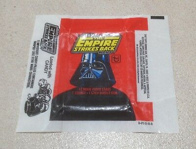 1980 Topps The Empire Strikes Back Series 1 - Wax Pack Wrapper (Loaded CANDY)