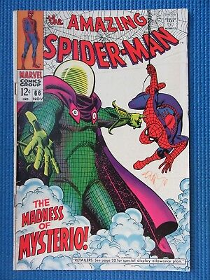 Amazing Spider-Man # 66 - (Vf-) - The Madness Of Mysterio, Green Goblin