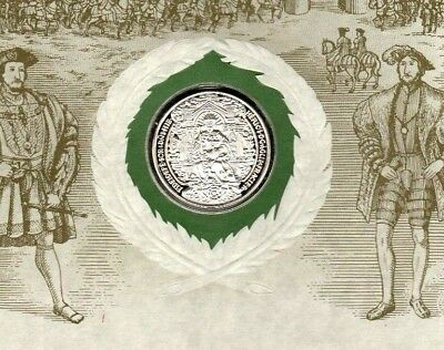 Historic Silver Seal Treaty of The Field of Cloth of Gold King Henry VIII Bulla