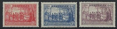 Early Pre Decimal Sets KGV - 150th Anniv of Foundation of NSW - Sesqui - MLH