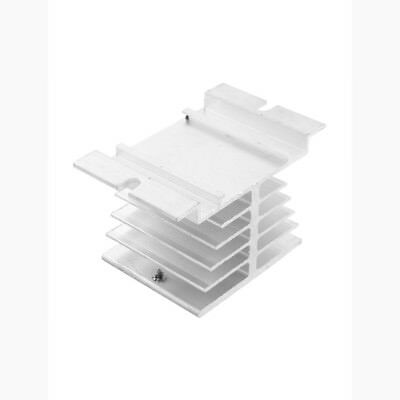 Aluminum Alloy Heat Sink DIN Nail Mount for SSR-25DA 40DA Solid State Relay