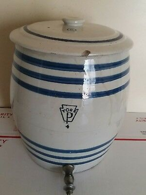Vintage Pfaltzgraff Water Cooler - Crock #5 - Salt Glazed