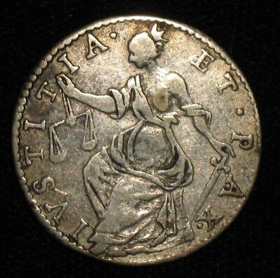 1732, Barbone / 2 Grossi from Lucca, Italy.  No Reserve!