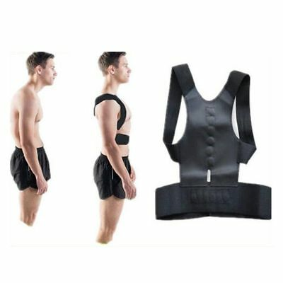 Posture Corrector Support Magnetic Therapy Back Shoulder Brace Belt Adjustable