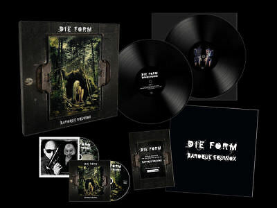 Die Form  ‎– Baroque Equinox - Ltd VINYL+CD+DVD - Neu & OVP