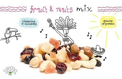 Fruit and Nuts Mix Raw 100 x 55g TUBZ
