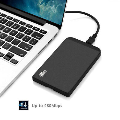 """USB 2.0 2.5""""HDD SSD Hard Drive Disk IDE External Enclosure Case For PC lot BD1"""
