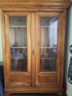 Very large antique French cabinet, reclaimed wood, 1p start NO RESERVE