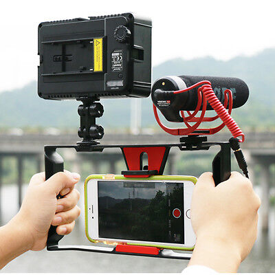 Universal Phone Video Camera Cage Stabilizer Film Making Rig for iPhone Samsung