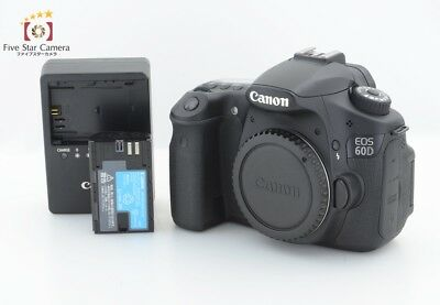 Excellent+++!! Canon EOS 60D 18.0MP Digital SLR Camera Body from Japan