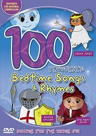100 Favourite Bedtime Songs And Rhymes [DVD], Good DVD, ,