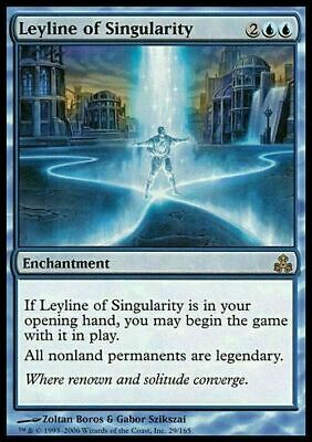 Leyline of Singularity ~ Guildpact ~ Excellent+ ~ Magic The Gathering