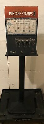 US Postage Stamp Machine 1950's-1960's Stampak Inter-American Vending w/Stamps