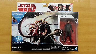 STAR WARS The Last Jedi RATHTAR + BALA-TIK Hasbro NEU OVP MISB Force Link 3.75""