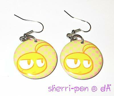 Fullmetal Alchemist fanmade 1-inch button earrings Edward Elric
