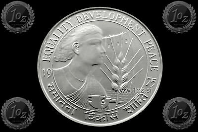 INDIA 10 RUPEES 1975 ( F.A.O. - WOMEN's YEAR ) Commemorative coin (KM# 190) UNC