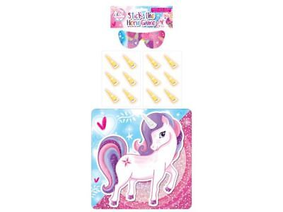JOB LOT 24 x STICK THE HORN ON THE UNICORN Game Party Bag Toy WHOLESALE BULK BUY