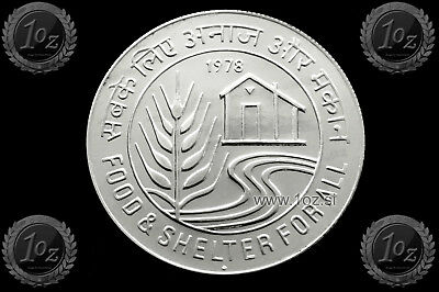 INDIA 10 RUPEES 1978 (F.A.O. - WORLD FOOD DAY) Commemorative coin (KM# 193) UNC