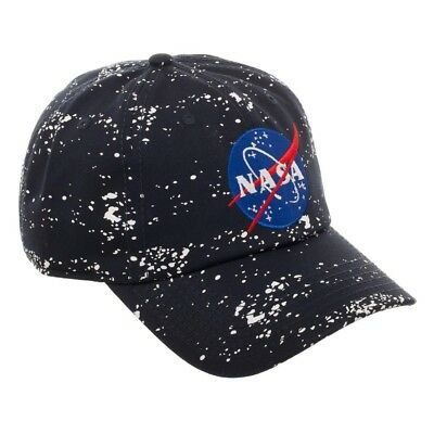 Nasa Black Outer Space Galaxy All Over Print Dad Hat Curved Bill Adjustable  Logo d48df89c93b9