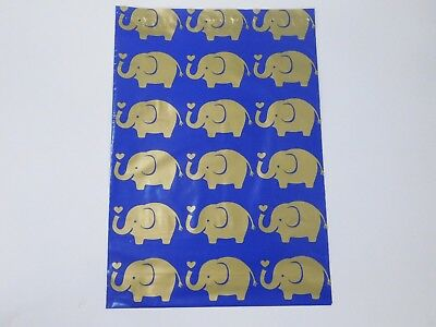 25 Gold ELEPHANT 10x13 Designer Poly Mailers Shipping Envelope Boutique Bags