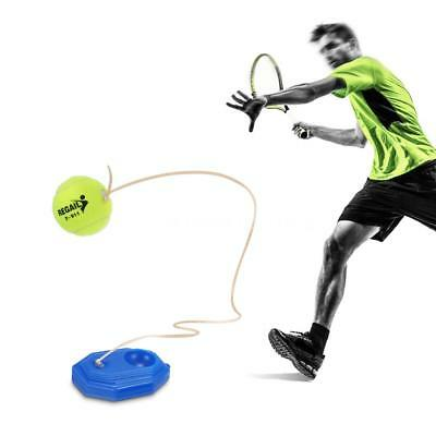Tennis Trainer Practice Training Tool Baseboard Exercise Rebound Ball with S5L4