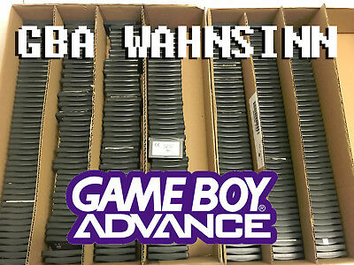 Riesenkonvolut: 187 verschiedene Nintendo Game Boy Advance Games! Top-Zustand!