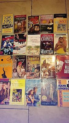 Lot Of 20 Assorted Young Adult/teen Chapter Books-- (#222)--Free Shipping