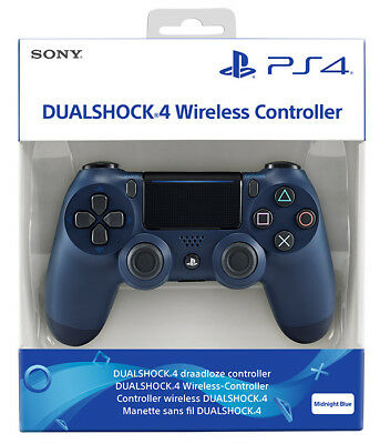 Playstation 4 PS4 Controller Wireless Dualshock 4 Midnight Blue Limited Edition