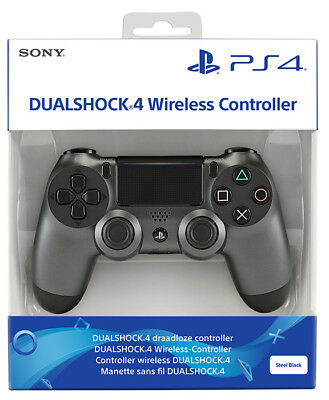 Playstation 4 PS4 Controller Wireless Dualshock 4 Steel Black Limited Edition
