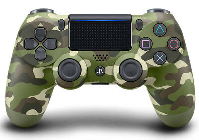 Playstation 4 PS4 Controller Wireless Dualshock 4 V2 Green Camo Camouflage