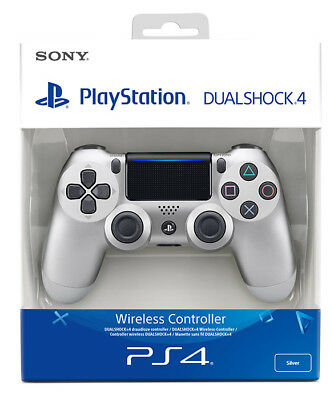 Playstation 4 PS4 Controller Wireless Dualshock 4 V2 Silver