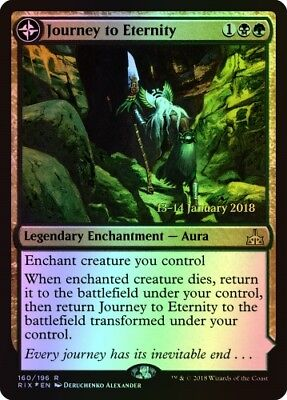 MTG FOIL Journey to Eternity [English, Rivals of Ixalan Pre-Release Promo]