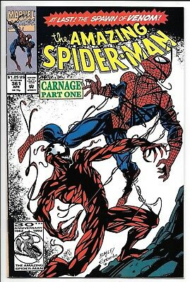 Marvel Comics THE AMAZING SPIDER-MAN #361 first printing 1st appear of Carnage