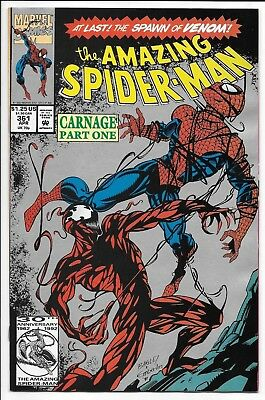 Marvel Comics THE AMAZING SPIDER-MAN #361 second printing 1st appear of Carnage