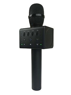 MicGeek Q11 Bluetooth Microphone w/ Voice Changer and Vocal Cancel  (BLACK)