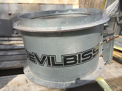 "Devilbiss 18"" Dia Paint Booth Exhaust Fan 1 Hp 230/460/ 3 Phase Motor"
