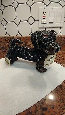 "Beadworx by Grass Roots ""Roscoe the Dog"""
