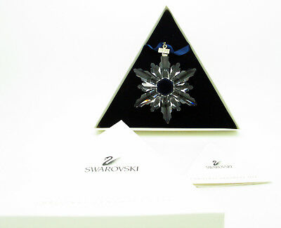 SWAROVSKI 1998 Annual Snowflake Ornament - New in box w/ certificate. US Seller