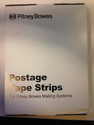 Pitney Bowes Postage Tape Strips 625-0, 7 Inch Strips