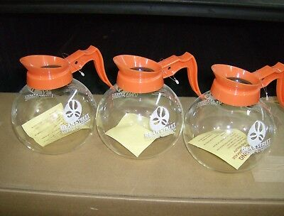 3 NEW BEAN STREET Glass commercial style coffee pots