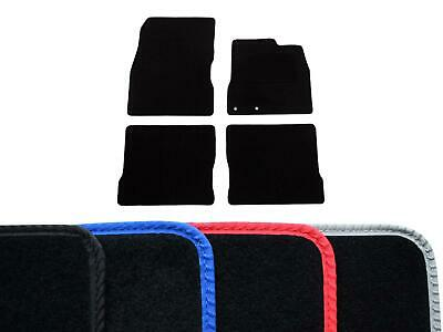 Tailored Fit Black Carpet Floor Mats 4pc Car Mat Set for Nissan Note (2013 on)